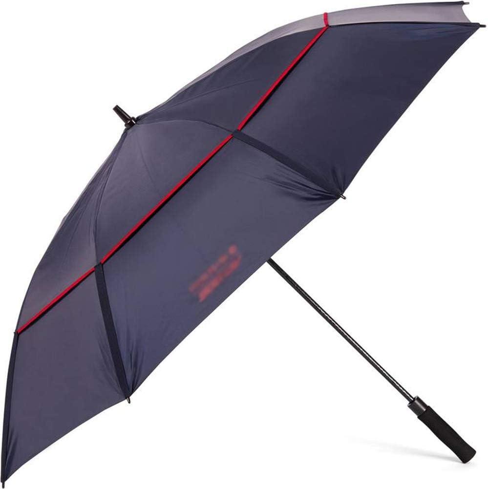 Color : Blue ZHANGAIZHEN Tarps Tie-Downs Umbrella Gazebo Extended Handle Double Large Windproof Double Layer Anti-UV