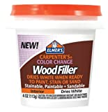 Best Wood Fillers - Elmer's Carpenter's Color Change Wood Filler, 4 oz Review