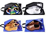 Shoe Travel Bag Golf Shoe Bag Waterproof Nylon Laundry Bag with Zipper