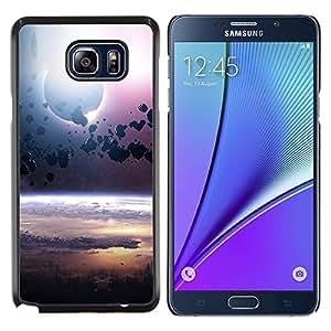 "Be-Star Único Patrón Plástico Duro Fundas Cover Cubre Hard Case Cover Para Samsung Galaxy Note5 / N920 ( Cinturón de Asteroides Planet Space Cosmos Universo"" )"