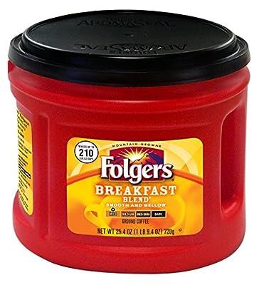 Folgers Breakfast Blend Coffee, 25.4 Ounce