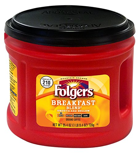 Folgers Breakfast Blend Coffee, 25.4 Ounce