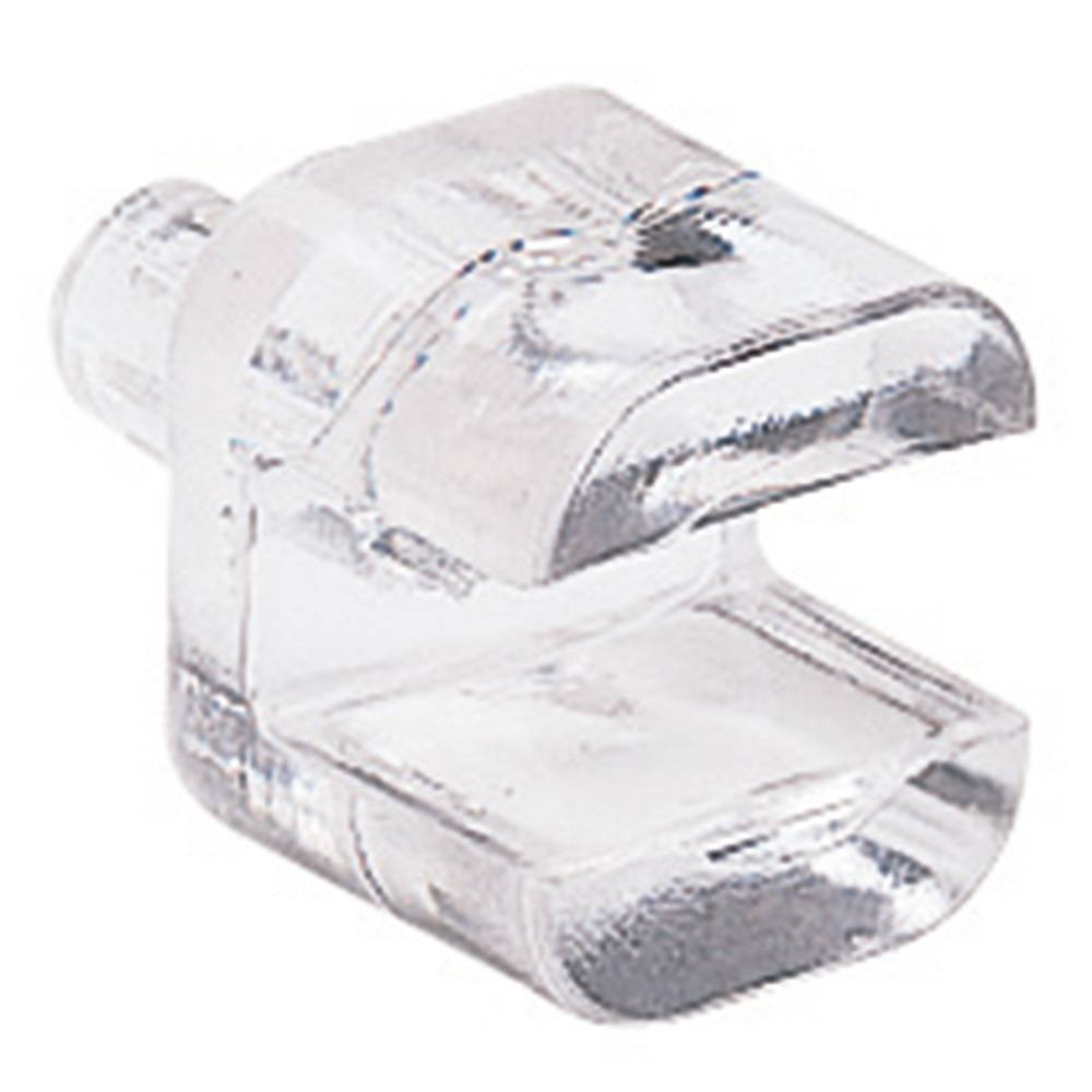 Prime-Line Products U 9256 Shelf Support Peg 1//4-Inch Pack of 12 Clear Plastic,