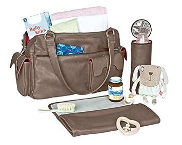 L/ÄSSIG Baby Wickeltasche Babytasche Stylische Tasche inkl Wickelzubeh/ör//Tender Shoulder Bag oasis