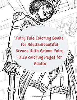 Amazoncom Grimm Fairy Tales Myths And Legends Coloring Book For