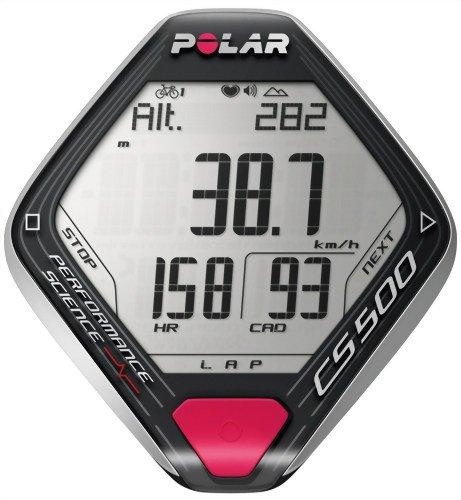【希少!!】 POLAR(ポラール) サイクリング向け ハートレートモニター CS500 B003I9JG78, イイハダ.ネットショップ 8a5e5d3e