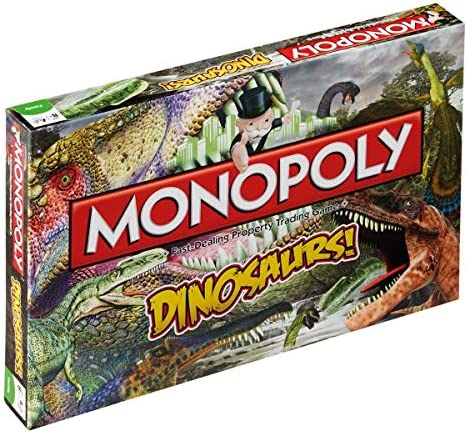Dinosaurs Monopoly Board Game by Monopoly: Amazon.es: Juguetes y juegos