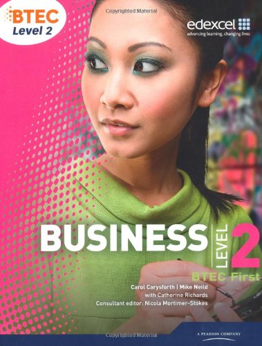BTEC Level 2 First Business Student Book
