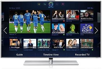 Samsung UE40F7000SLXXC - Televisor LED 3D de 40 pulgadas con SmartTV (Full HD, Wifi integrado, 2 sintonizadores, 800 Hz), 2 gafas recargables incluídas: Amazon.es: Electrónica