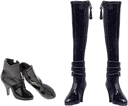 1//6 chaussures à talons hauts pour bottines de 12 /'/' pour femmes