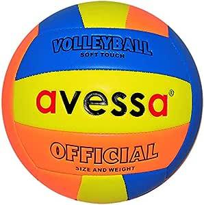 Avessa Pvcy52 Fosforlu Voleybol Topu, Çok Renkli