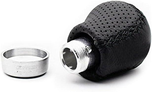 Sport family Universal Leather Manuell Auto Schaltknauf Schaltkopf f/ür Manuelles oder automatisches Getriebe Ohne Sperrknopf