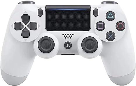 Playstation 4 - Mando inalámbrico Dualshock 4, Glacier White ...