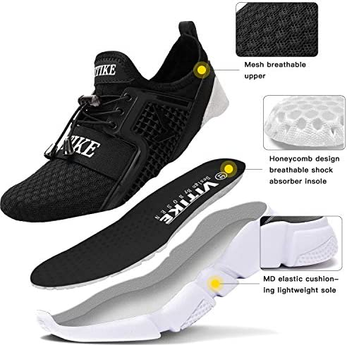 Kids Sneakers Running Shoes Lightweight Breathable Boys Tennis Shoes Casual Sports Shoes Walking Shoes 6