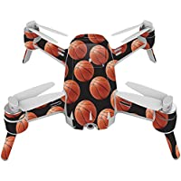 Skin For Yuneec Breeze 4K Drone – Basketball | MightySkins Protective, Durable, and Unique Vinyl Decal wrap cover | Easy To Apply, Remove, and Change Styles | Made in the USA