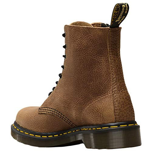 Grizzly Dr Tan Stivali Leather W Martens Pascal Donna 1460 Zip 7fYp7r