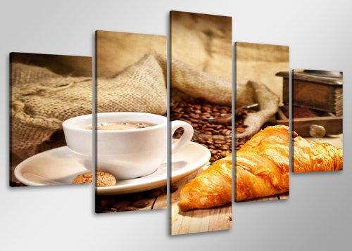 Visario-Cuadro-en-Lienzo-100-x-50-cm-Nr-6401-cafe-Enmarcado-y-Listo-para-Colgar-Calidad-de-la-Marca