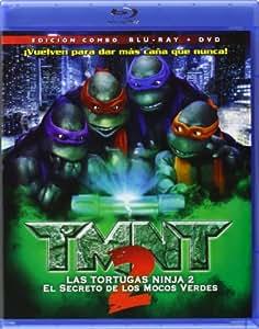 TMNT 2: El Secreto De Los Mocos Verdes [Blu-ray]