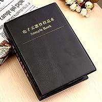 ARCELI ohm 20M ohm 0603 177 Value 8850pcs All Series SMD Resistor Combo Sample Book Kit SMT Pack Box Book RoHS 1/%
