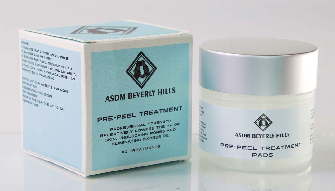 Pre Peel Treatment- Professional Strength, Alcohol & Acetone free! Works great on all chemical peels: Glycolic, Lactic, TCA, Jessner ASDM Beverly Hills