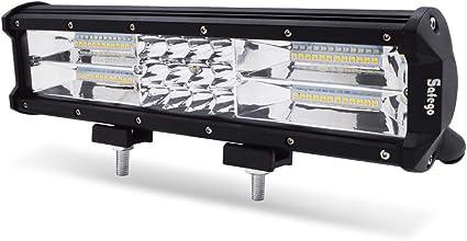 Safego Barra de luz de Trabajo de luz estroboscópica LED, Barra de ...