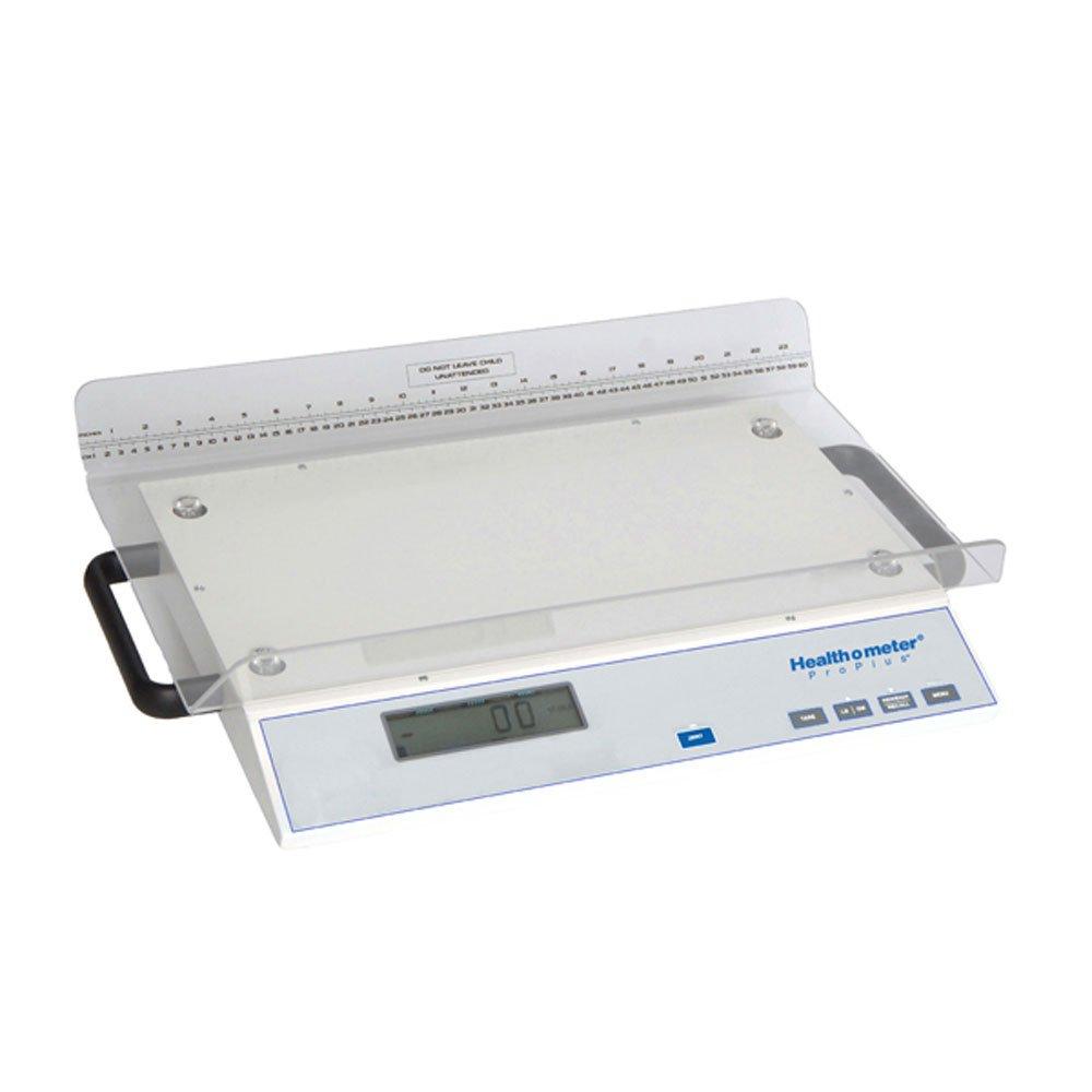 Health O Meter 2210KL Digital Scale, Neonatal, Capacity 45 lb, Resolution 0.1oz/0-11300g/lg, >11300g 5g, 15-3/8'' x 24'' x 3'' Platform