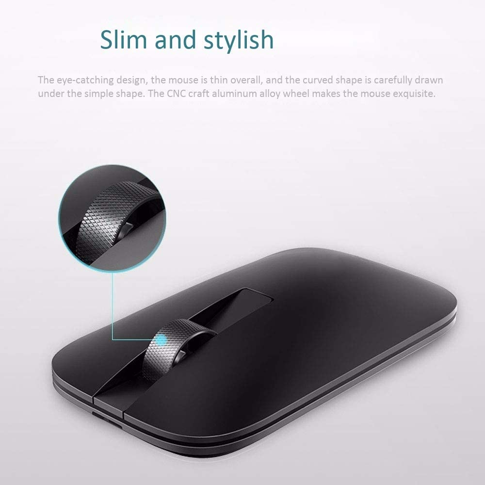 DHINGM Office Wireless Mouse Bluetooth Wireless Mouse Support Desktop Laptop Mac Computer