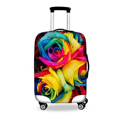 for-u-designs-26-30-inch-large-stylish-floral-print-cute-spandex-luggage-cover-suitcase-protector