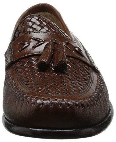 Cognac On Moc Swivel Men's Loafer Florsheim Tassel Woven Slip w768A1aqx