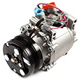 AC Compressor and A/C Cluth ECCPP CO 3057AC Automotive Replacement Compressor Assembly for 1994-2000 Honda Civic, 1997-2001 CR-V 1.6L 38810-P2F-A01