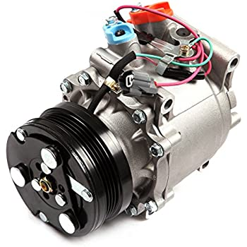 ECCPP Compatible fit for AC Compressor and A/C Clutch CO 3057AC Automotive Replacement Compressors Assembly for 1994-2001 Honda Civic CR-V 1.6L 38810-P2F- ...