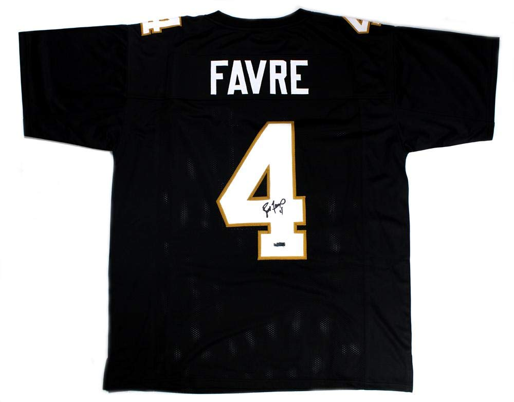 online store 7701a 350ab Signed Brett Favre Jersey - Southern Miss Golden Eagles ...