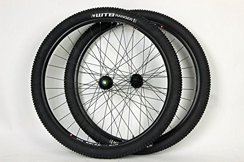 WTB 29 inch Boost Disc Brake STp i23 TCS Wheel Set Thru Axle Tubeless Ranger Tires and Tubes!