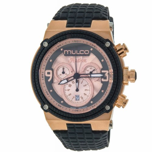 Mulco MW312140023 Illusion Cube Mens Watch Rose Colored