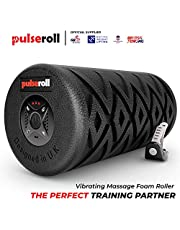 Pulseroll Vibrating Foam Roller voor diepe spiermassage myofatische spiermassage snel pijn en gespannen spieren – licht – 1 kilo rol schuim – ideaal voor rug, kuiten, benen, lichaam, oefeningen, rekken, fitness, crossfit, yoga, gymnastiek