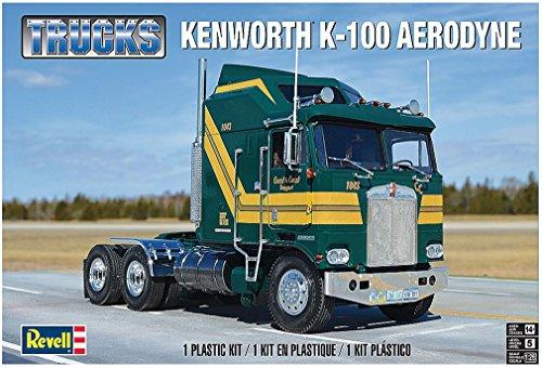 アメリカレベル 1/25 ケンウォース K-100 エアロダイン プラモデル 2514の商品画像
