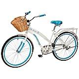 Benotto Bicicleta Sta. Monica Acero R26 1V Dama Frenos contra Pedal