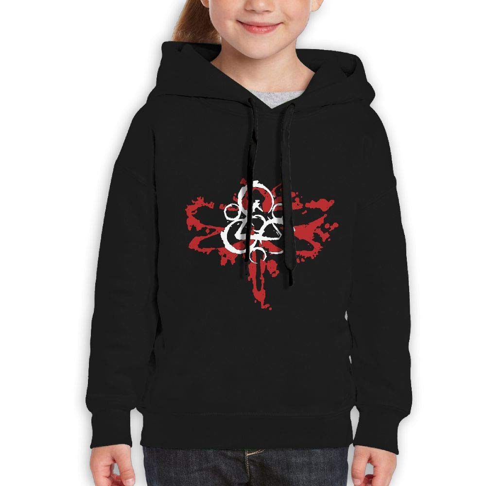 MUPTQWIU Youth Coheed and Cambria Mens Graphic Funny Jogging Black Hoody