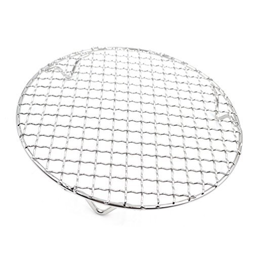 ecue Grids Round Cross Wire Footed Steaming Cooling Rack 1 Pc (Wire Packet Rack)