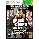 xbox 360 games grand theft auto - Grand Theft Auto IV & Episodes from Liberty City: The Complete Edition