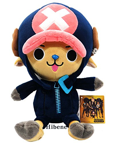 One Piece Film Gold Ver, Navy Tony Chopper Authentic Stuffed Plush Doll 10