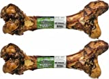 (2 Pack) Redbarn Mammoth Beef Bone, 14 To 16 Inches each For Sale