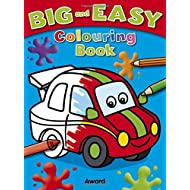 Big and Easy Colouring Book - Car