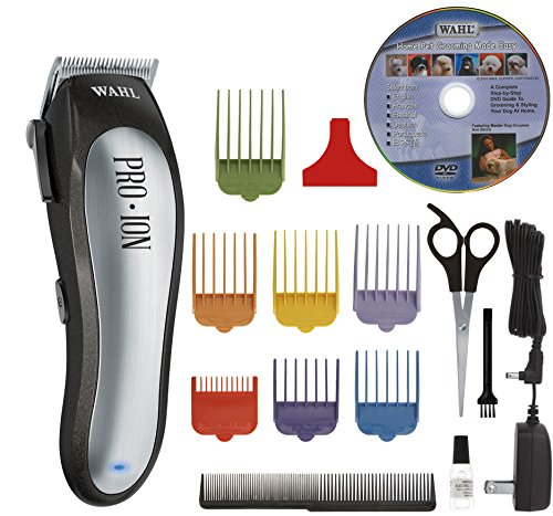 (Wahl Professional Animal Pro Ion Cordless Pet Clipper Kit (#9705))
