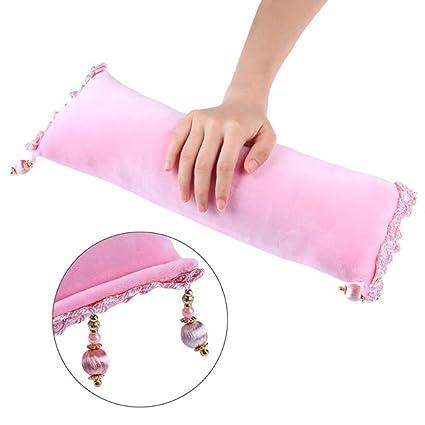 Manicura profesional arte mano cojín almohada borla ...