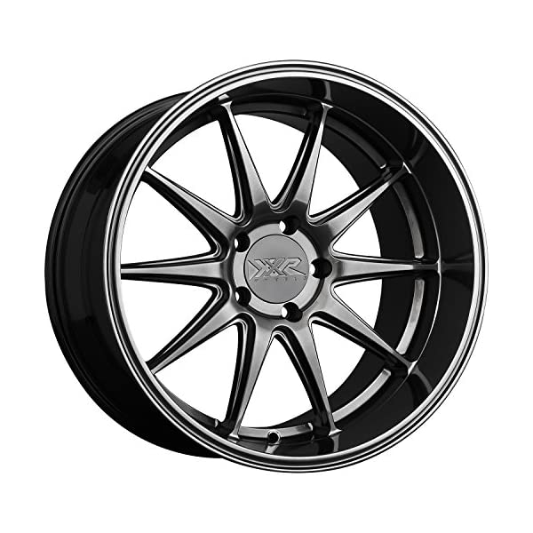 XXR-Wheels-527D-Chromium-Black-Wheel-with-Painted-Finish-18-x-105-inches-5-x-4-inches-20-mm-Offset