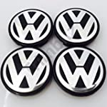VW Volkswagen 55mm 3D Domed Centre Ca...