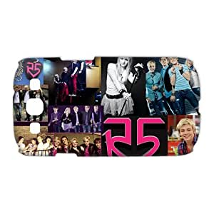 3D Print US Popular Young Band&R5(Ross Lynch,Riker,Ross, Ryland, Rocky, Rydel) Theme Case Cover for Samsung Galaxy S3 I9300- Personalized Hard Cell Phone Back Protective Case Shell-Perfect as gift