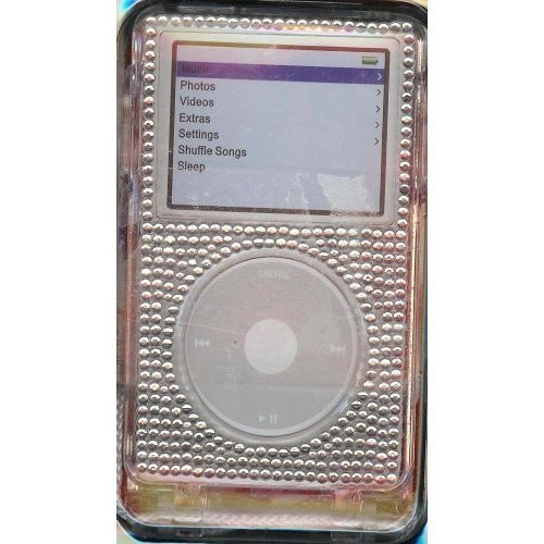 - Crystal Clear Bling Case (for 30G or 60G Ipods) - Durable Protection for your Ipod