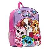 (US) Ty Beanie Boo Backpack Girls Backpack Canvas 16 School Kids Backpacks for Girls